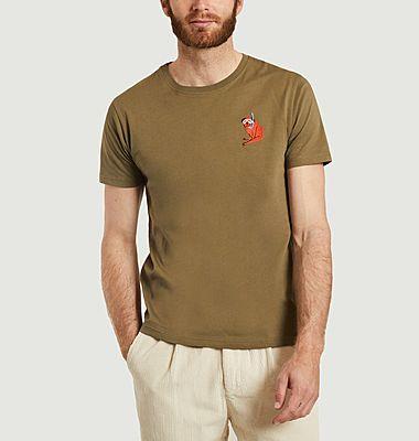 T-shirt en coton bio Snorkeling