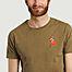 matière T-shirt en coton bio Snorkeling - Olow