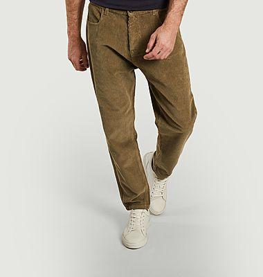 Pantalon en velours côtelé de coton bio Jacquot