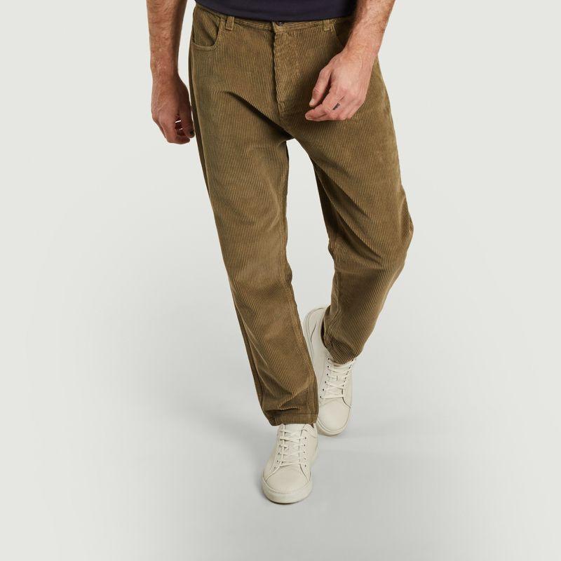 Pantalon en velours côtelé de coton bio Jacquot - Olow