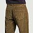 matière Pantalon en velours côtelé de coton bio Jacquot - Olow