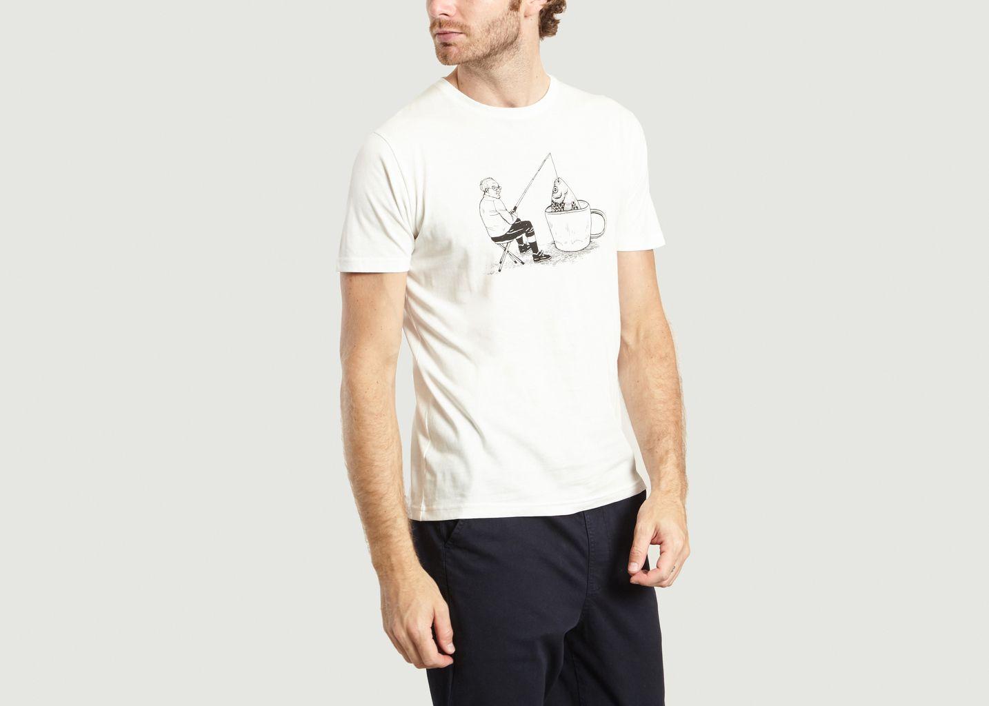 T-Shirt Fishing Man - Olow
