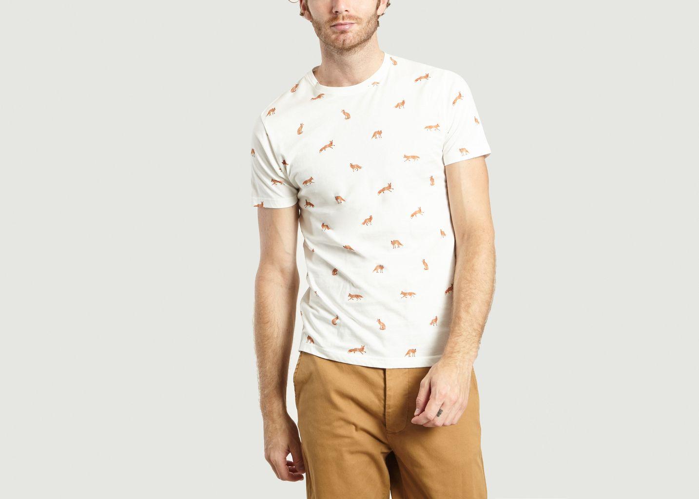 T-Shirt Fox - Olow