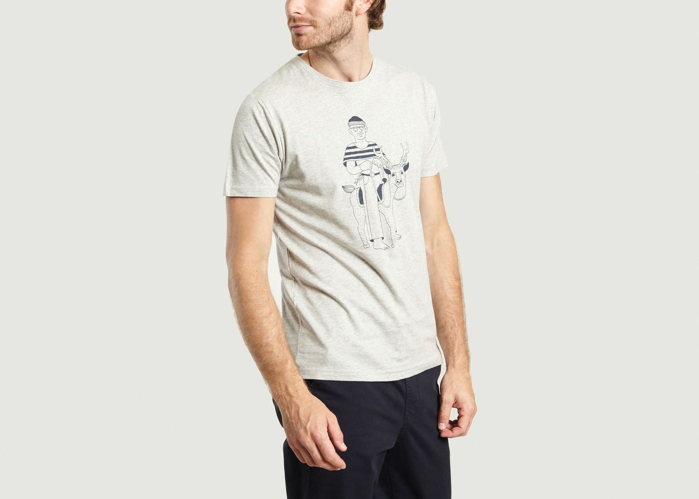 T-Shirt Cerf - Olow