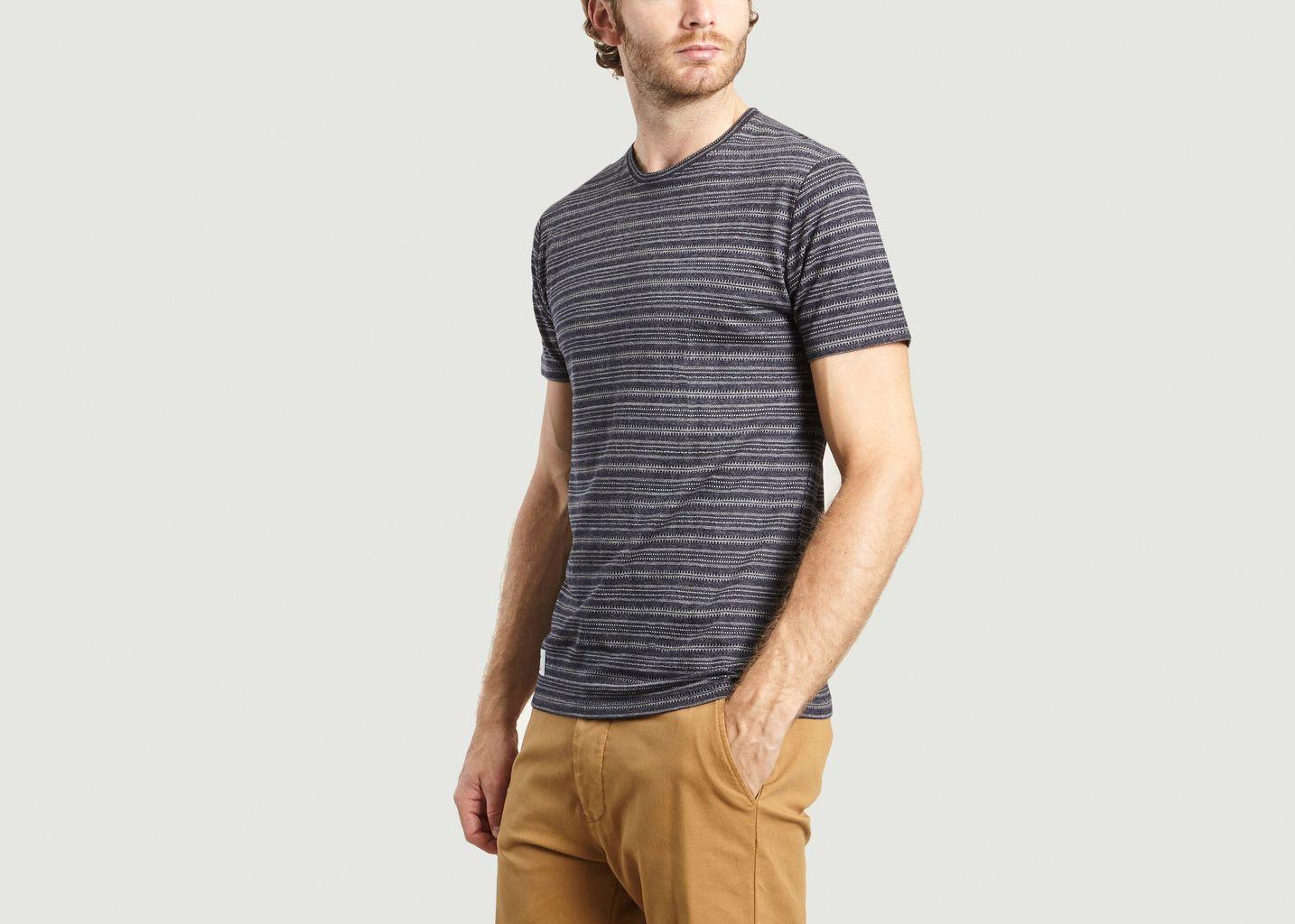 T-Shirt Rayé Alpage - Olow