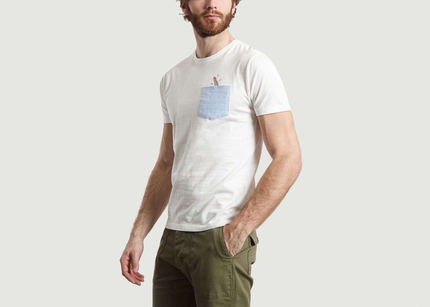 T-shirt Poche Dive - Olow