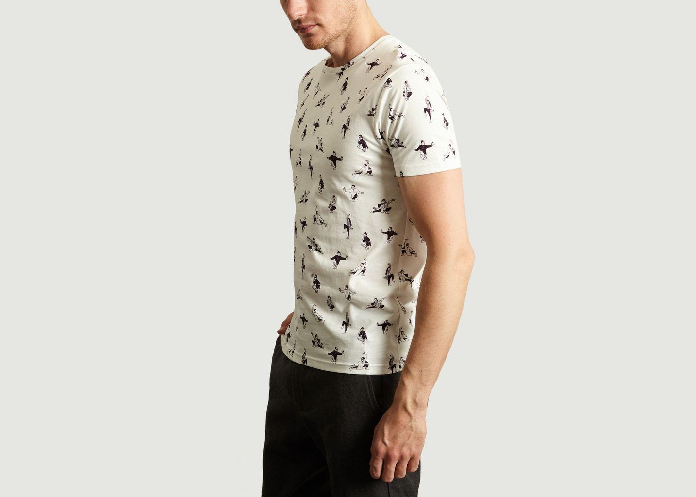 T-Shirt Moves en Coton Biologique - Olow