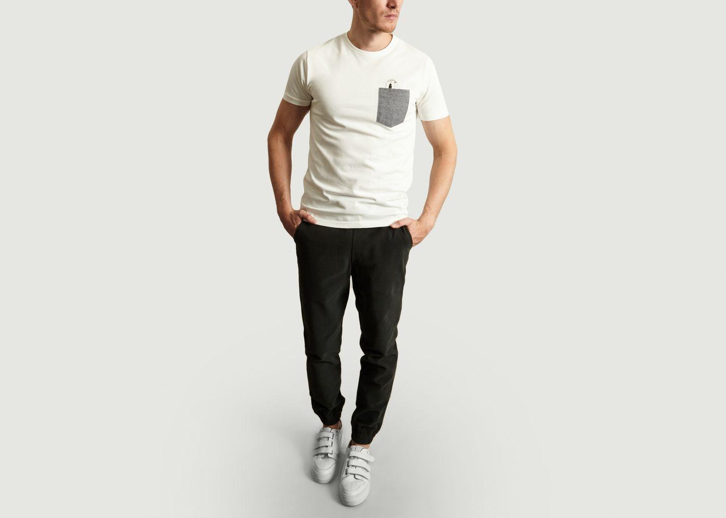 T-Shirt Drunk en Coton Biologique - Olow
