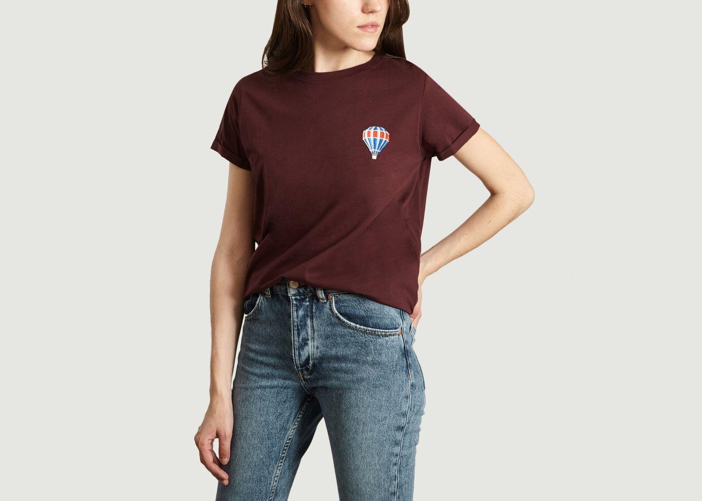 T-Shirt Montgolfière en Coton Biologique - Olow