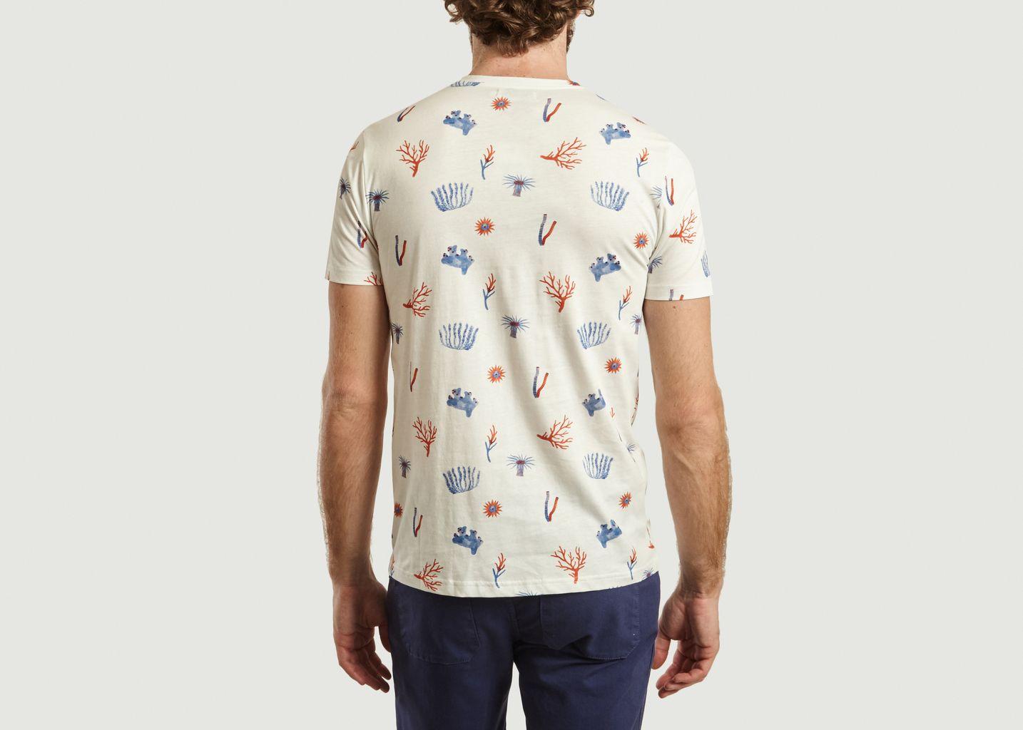 T-Shirt Recif en Coton Bio - Olow