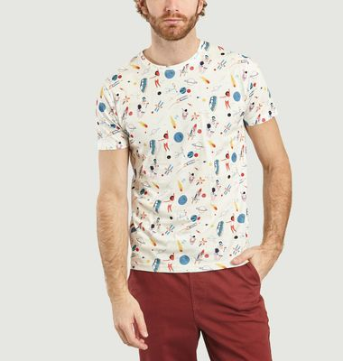 T-Shirt Space Oddity en Coton Bio