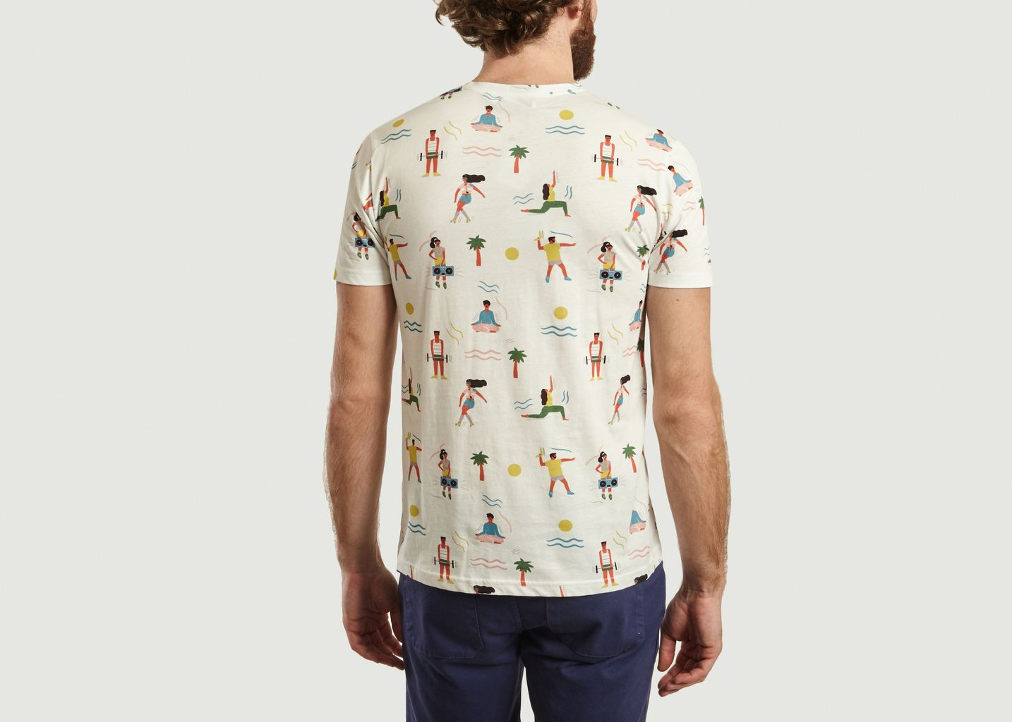 T-Shirt Frisco en Coton Bio - Olow