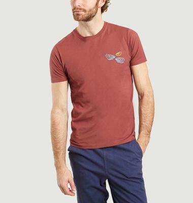 T-Shirt Oysters en Coton Bio