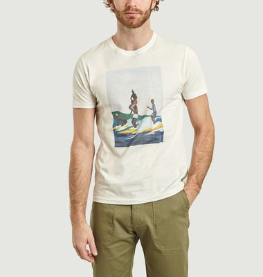 T-Shirt Surf is Life en Coton Bio