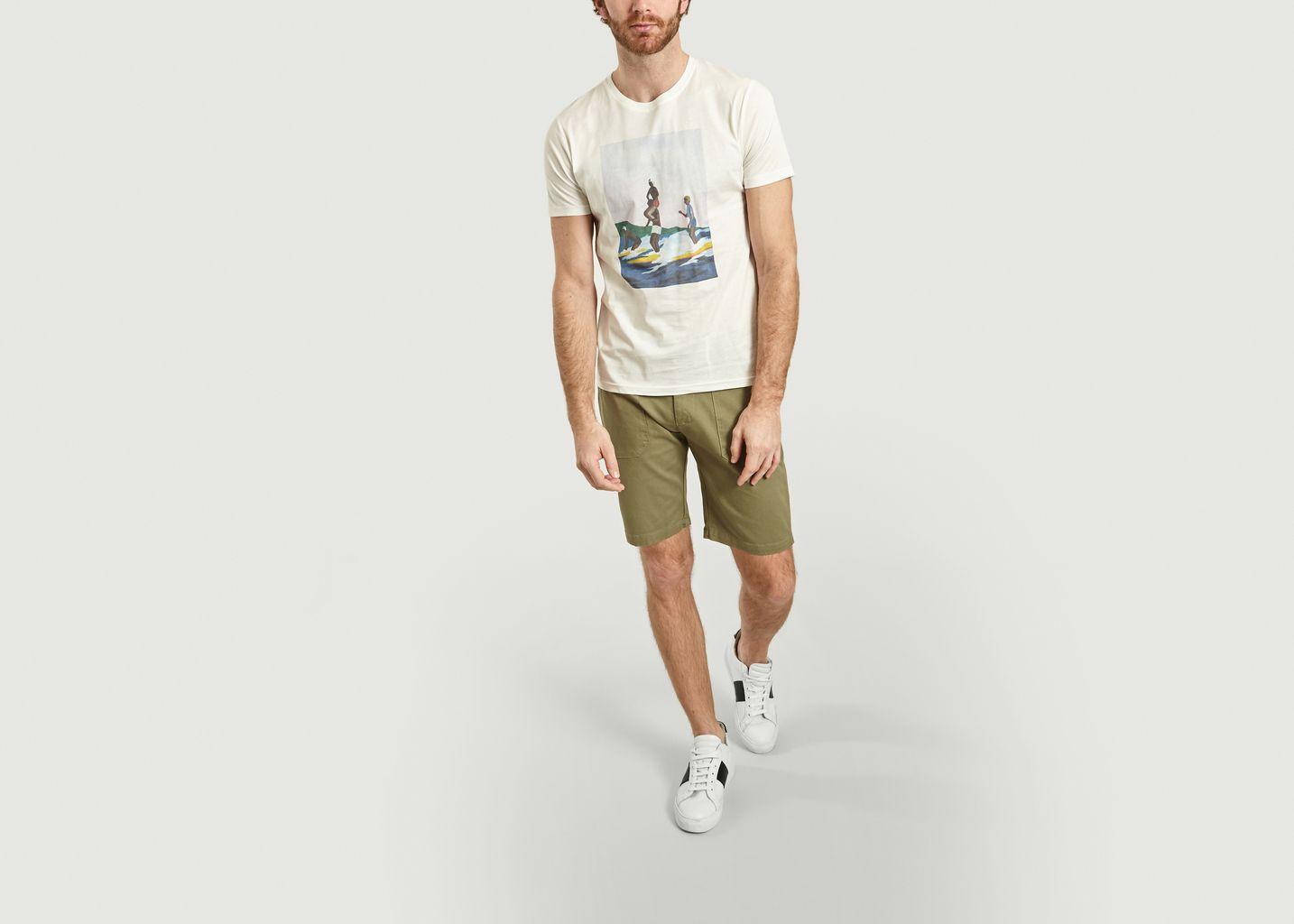 T-Shirt Surf is Life en Coton Bio - Olow
