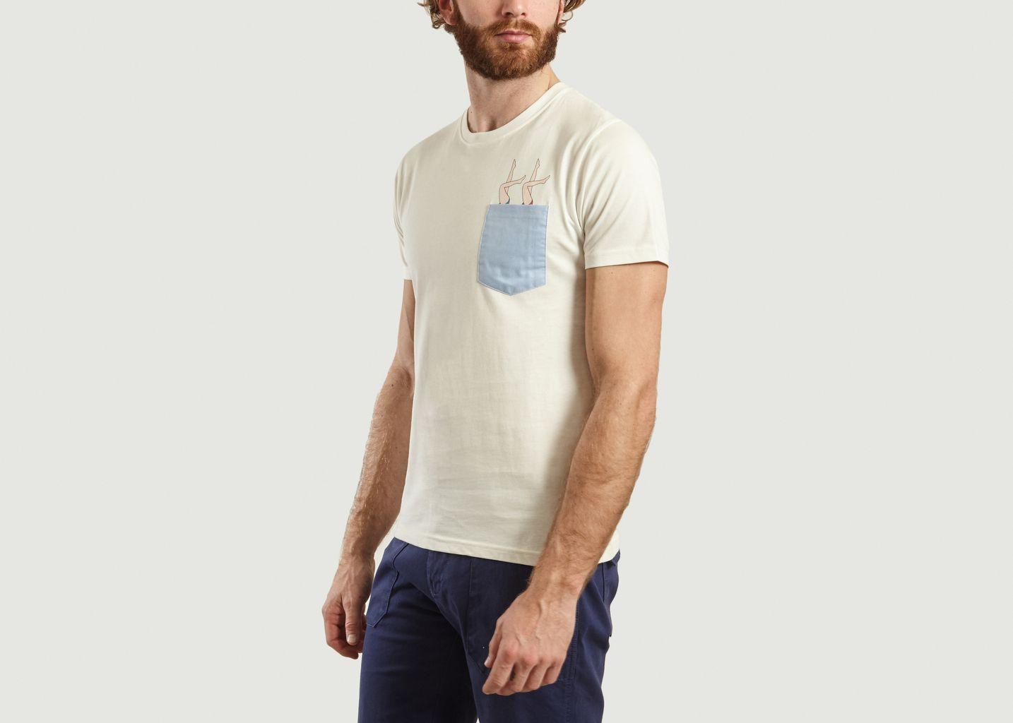 T-Shirt Synchro en Coton Biologique - Olow