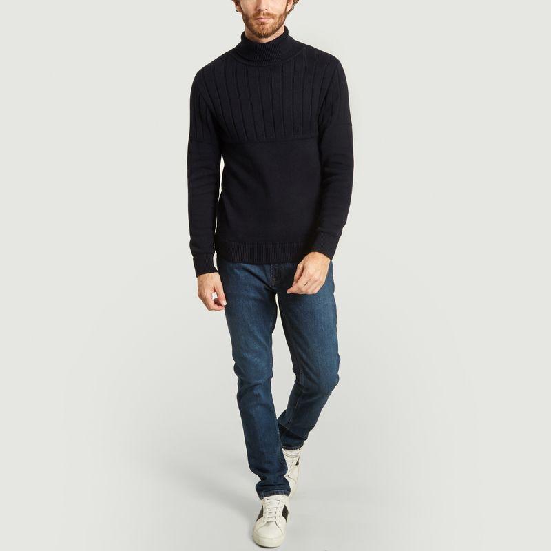 Pull en coton et laine Dérive - Olow