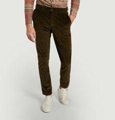 Corduroy chino pants