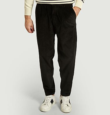 Swing corduroy trousers