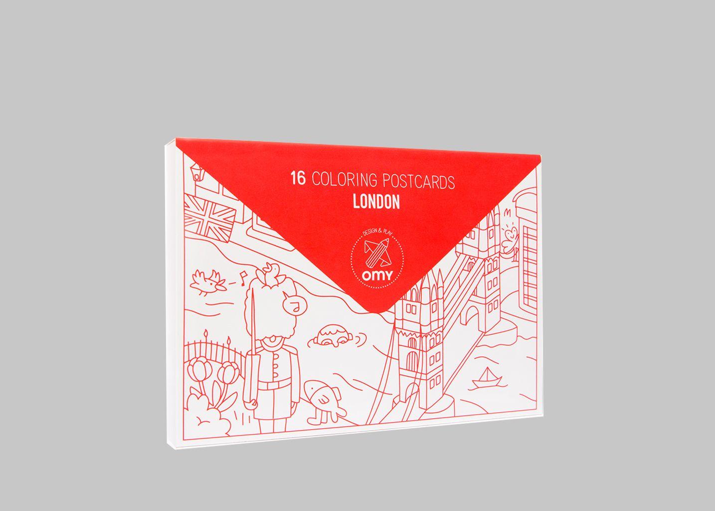 Cartes Postales London - Omy