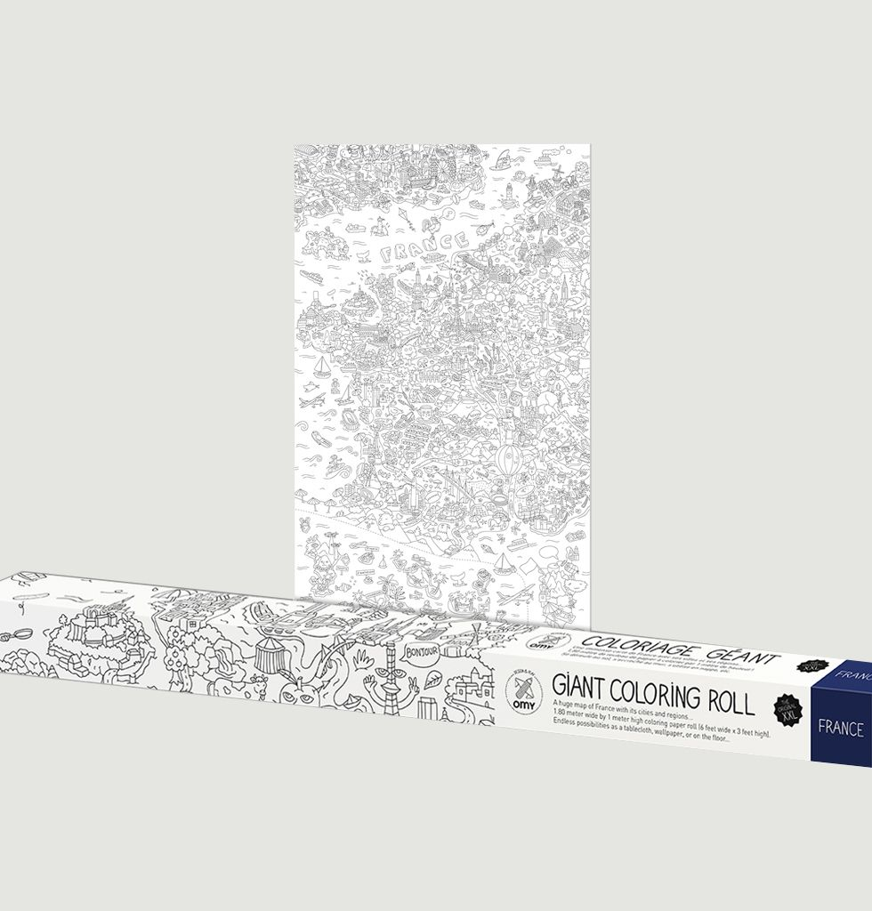 Coloriage Xxl France Bleu Marine Omy L Exception
