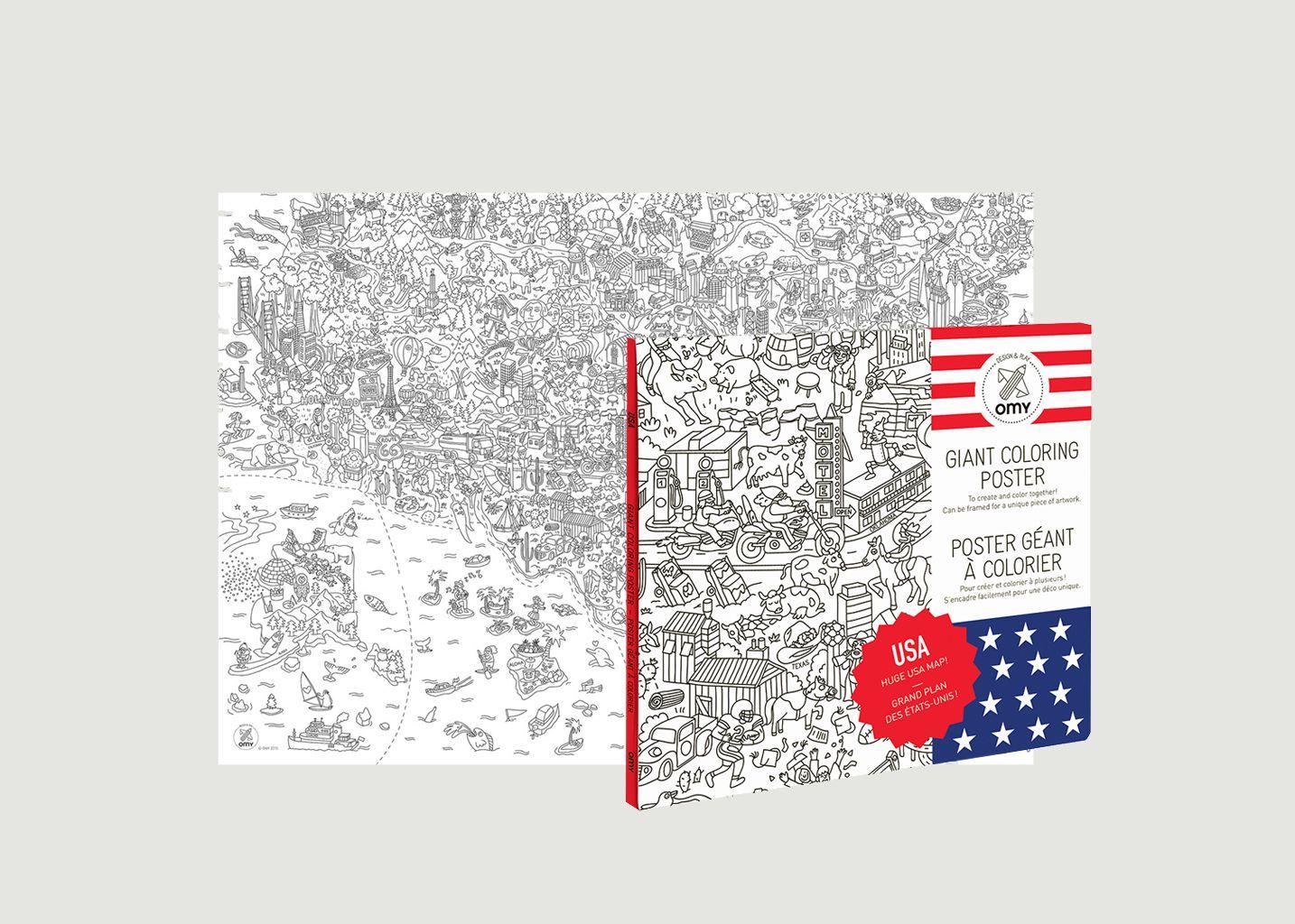 Poster USA - Omy