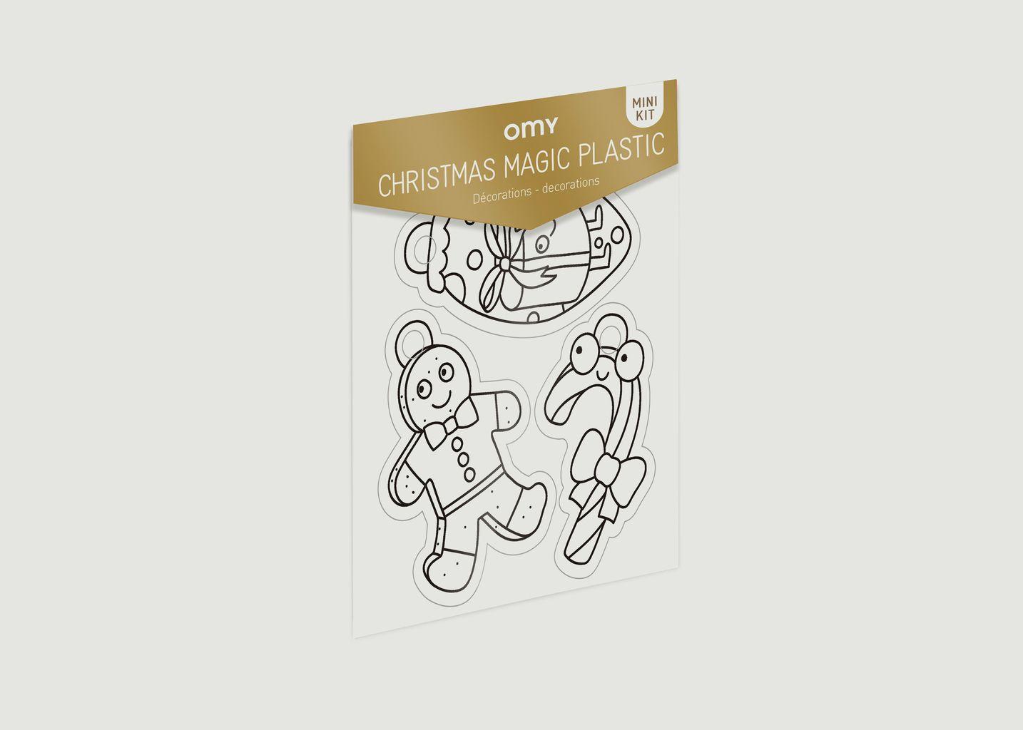 Mini Kit Magic Plastic Noel - Omy