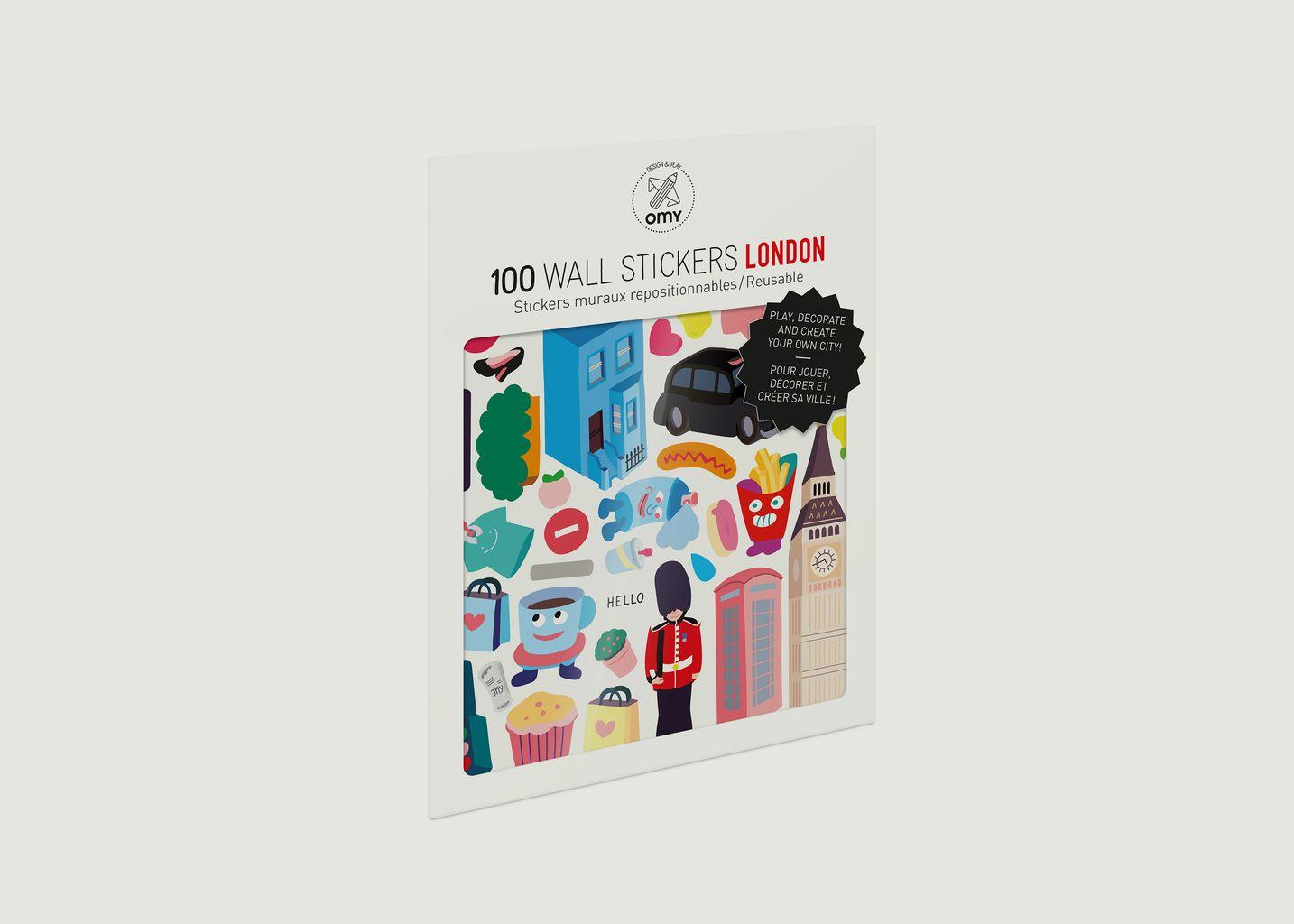 Stickers Londres - Omy