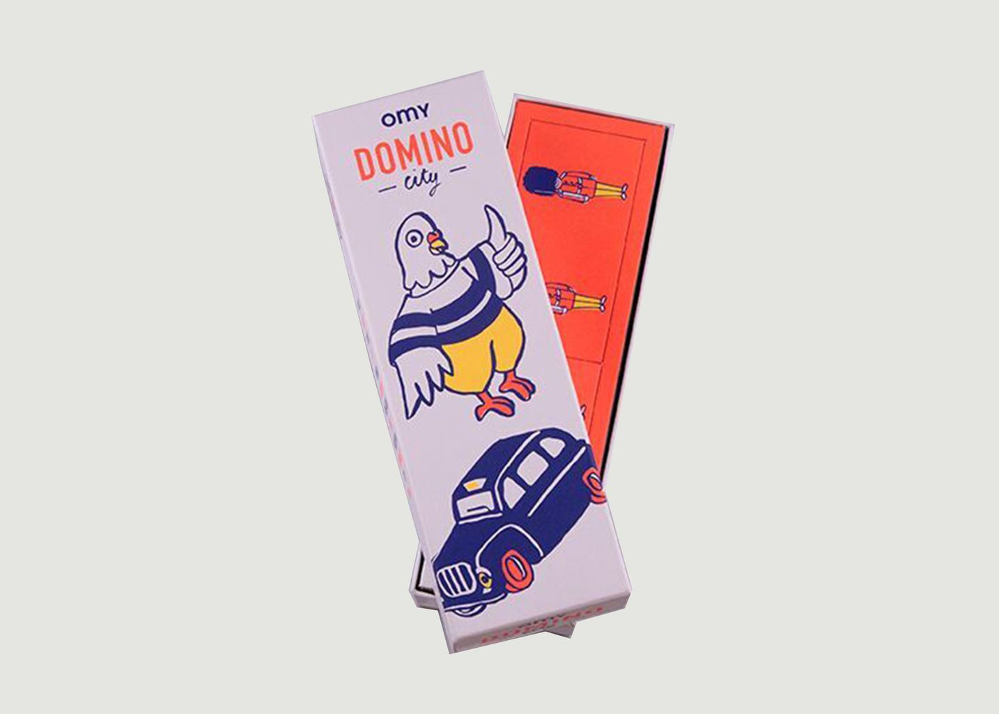 Boîte de Jeux Domino - Omy