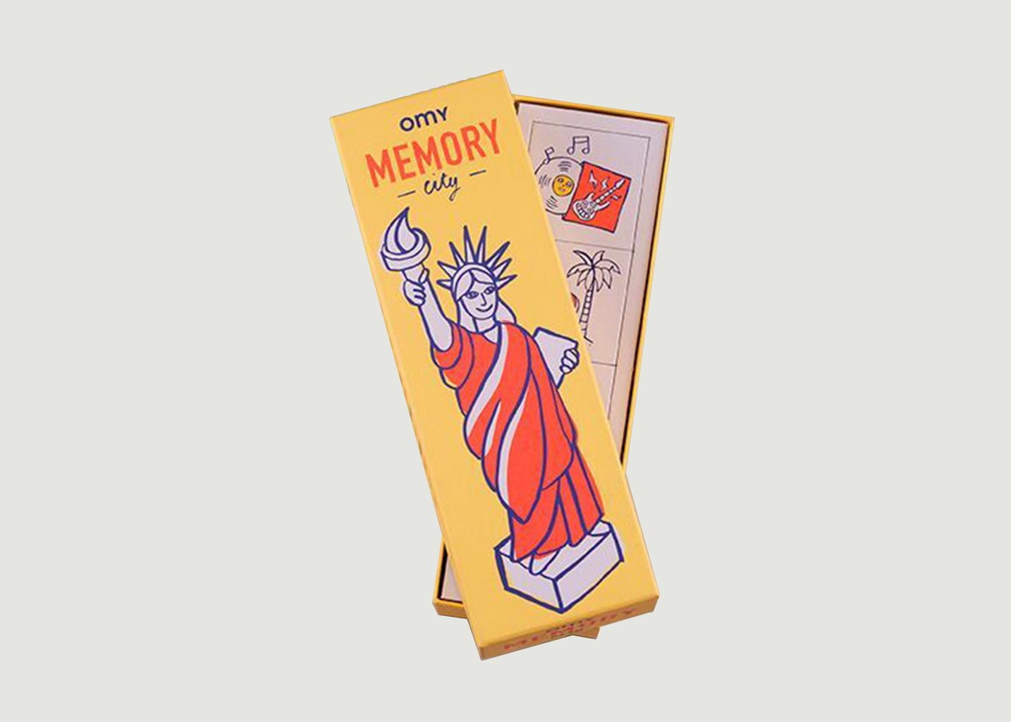 Boîte de Jeux Memory - Omy