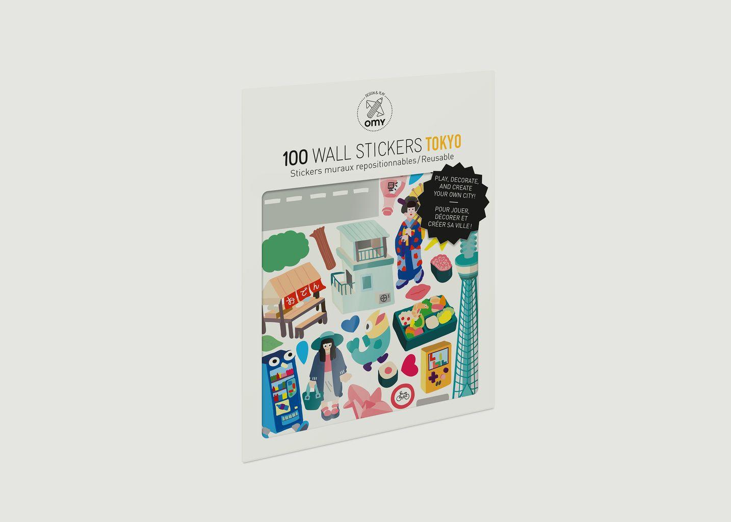 Stickers Tokyo - Omy