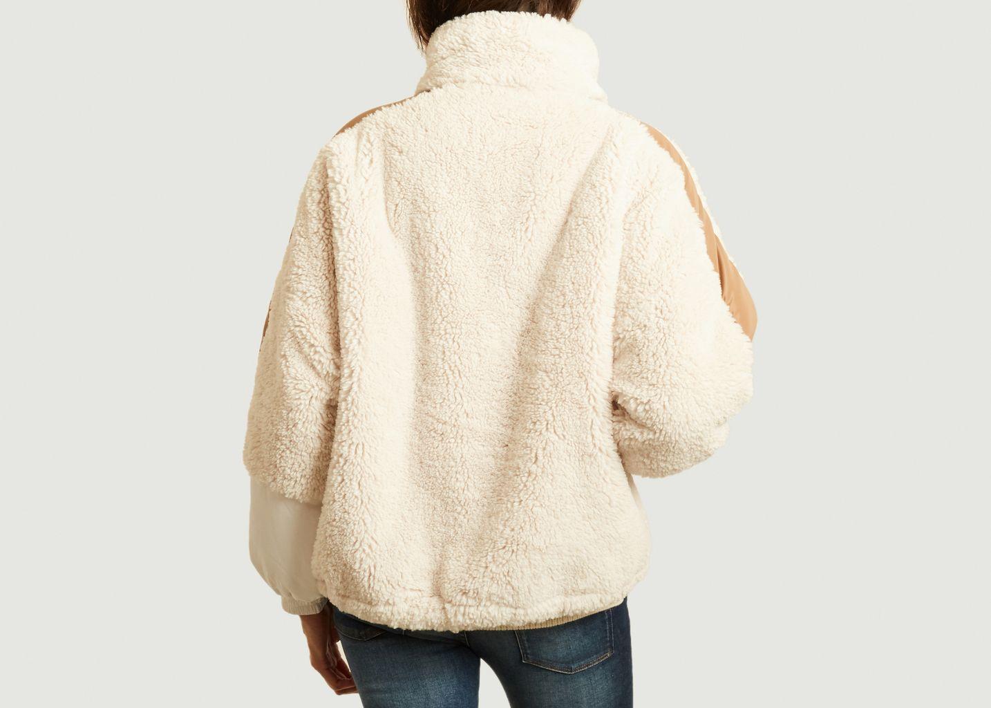 Sweatshirt 9018 oversize en fourrure - OOF WEAR