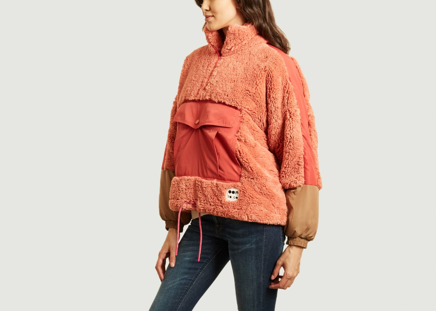 Sweatshirt 9018 oversize en fausse fourrure - OOF WEAR