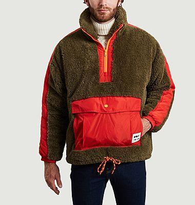 Sweatshirt 5018 oversize en fausse fourrure mousse