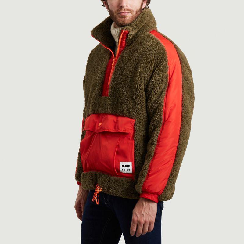 Sweatshirt 5018 oversize en fausse fourrure mousse - OOF WEAR