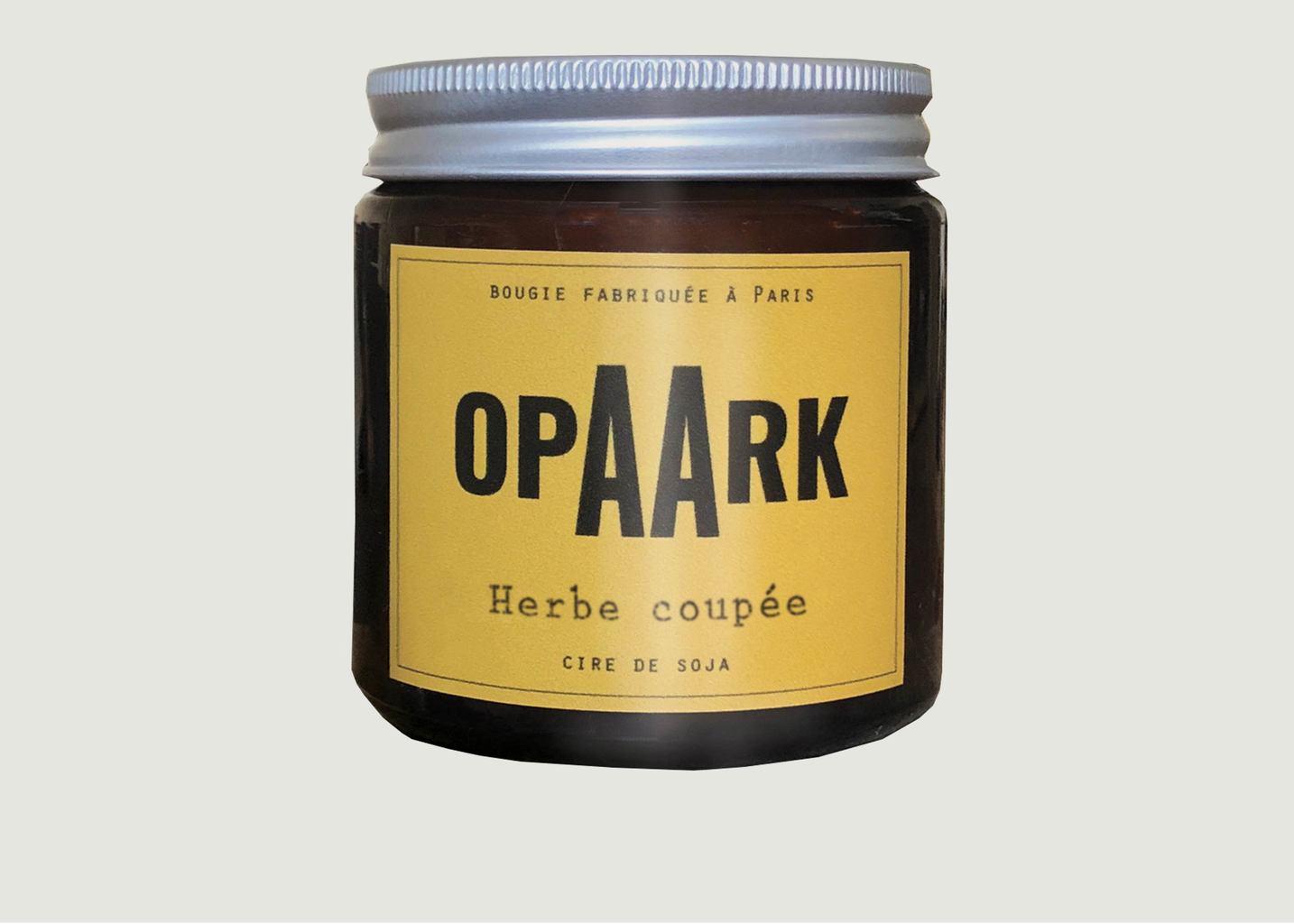 Bougie Herbe Coupée 90 gr - OPAARK