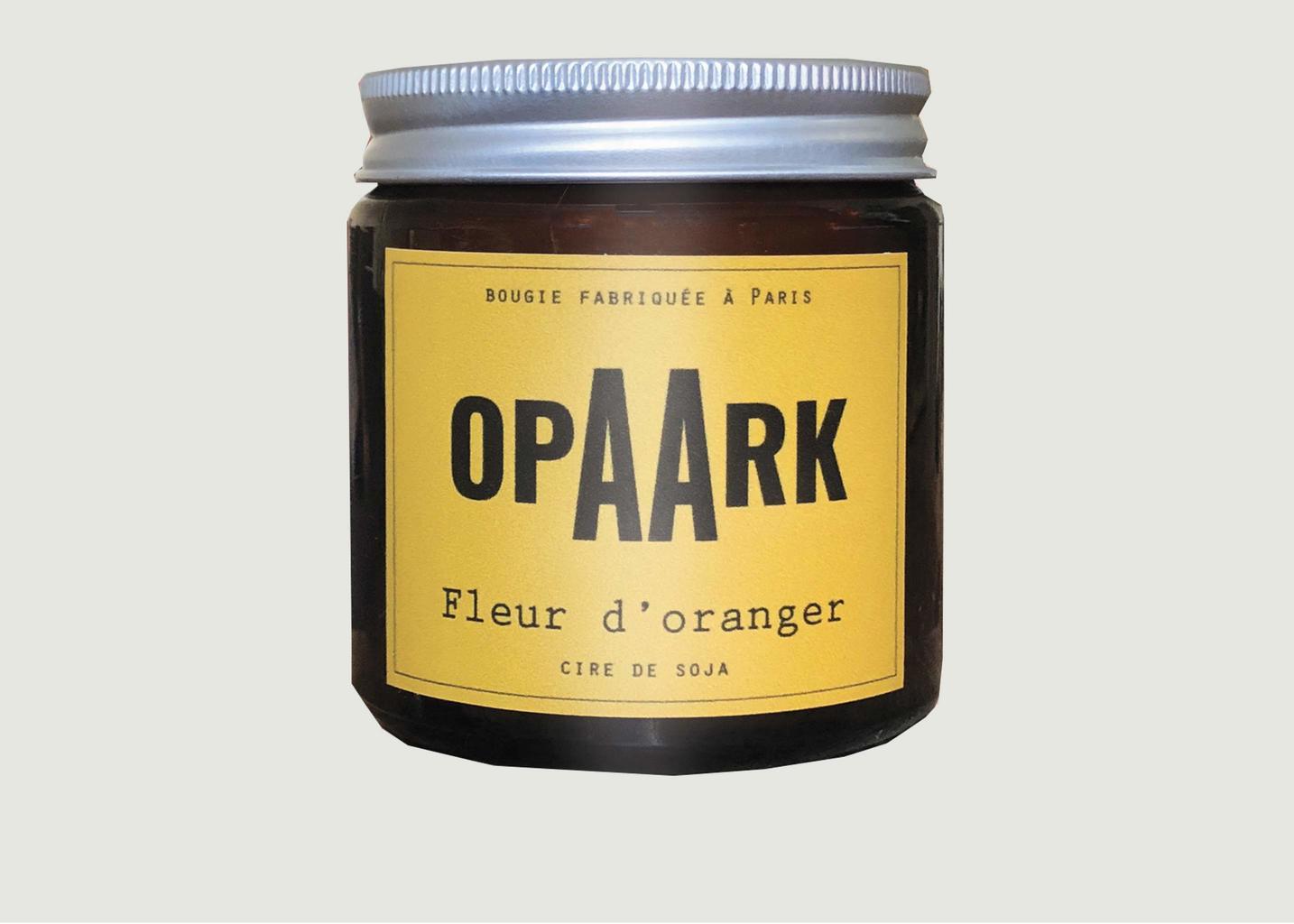 Bougie Fleur d'Oranger 200 gr - OPAARK