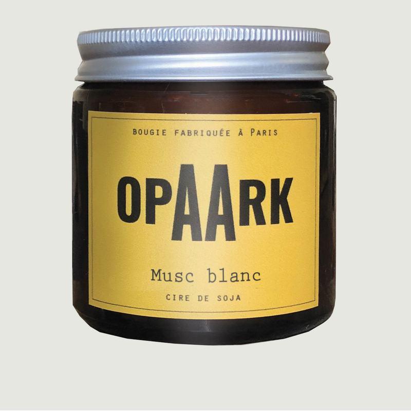 Bougie Musc Blanc 200 gr - OPAARK