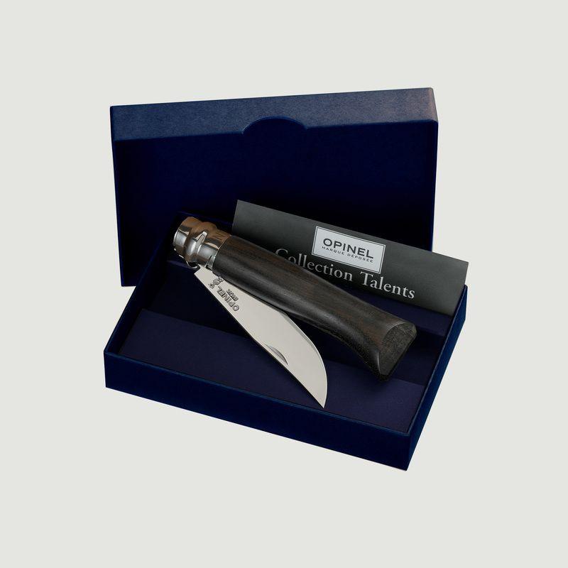 Coffret Couteau N°08 Ebène - Opinel