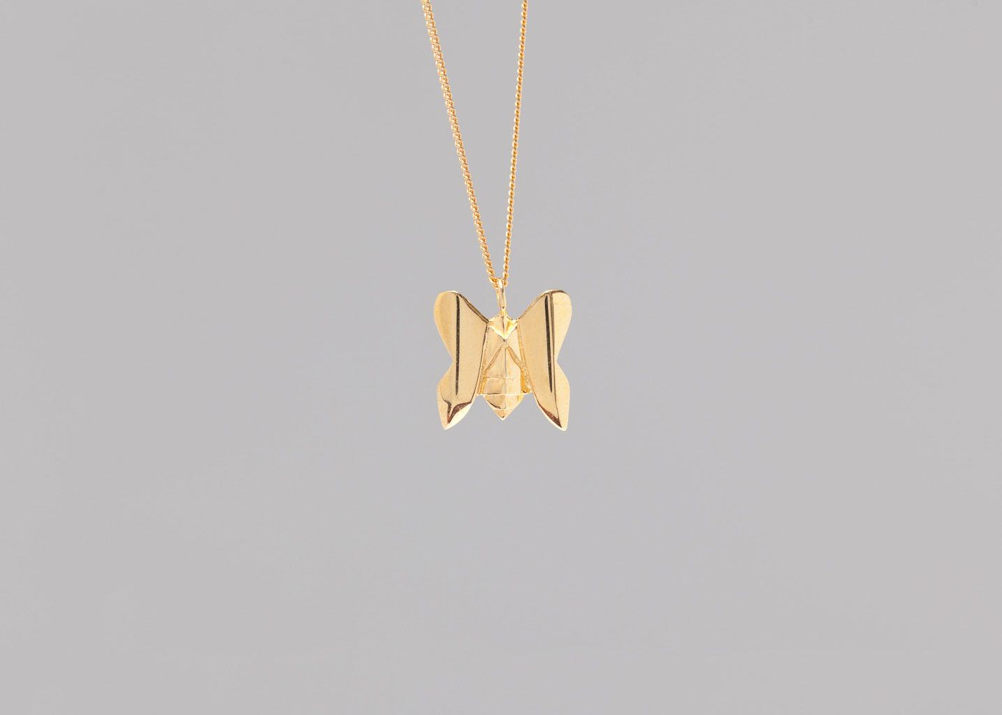 Collier Mini Papillon - Origami Jewellery