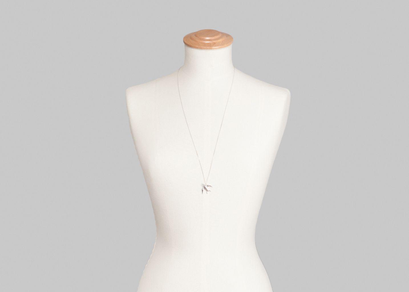 Sautoir Hirondelle - Origami Jewellery