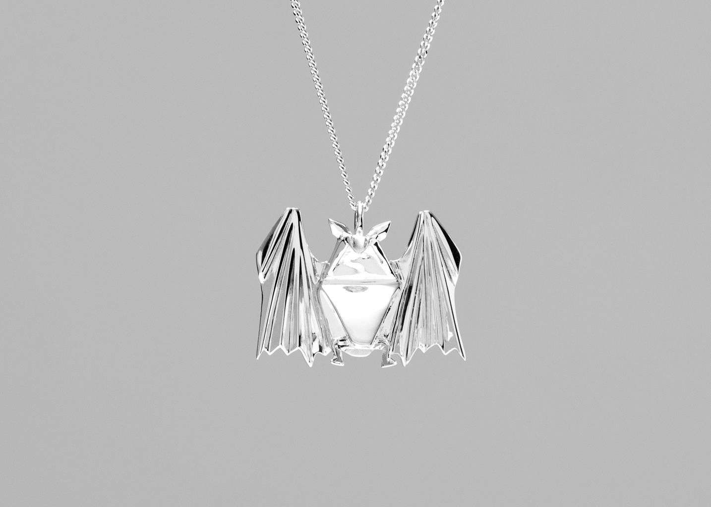 Sautoir Chauve-Souris - Origami Jewellery