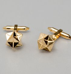 Cuff Links Gilded Silver