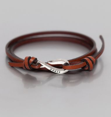 Bracelet Cordon Cuir