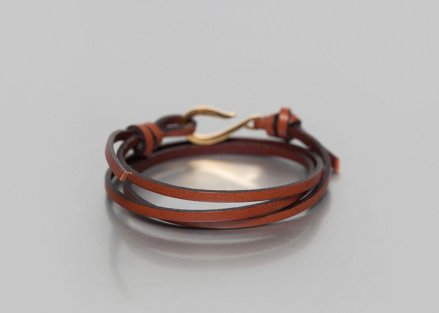 Bracelet Cordon Cuir - Orner