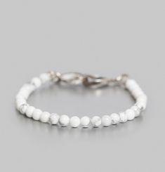 Fine Howlite Bracelet