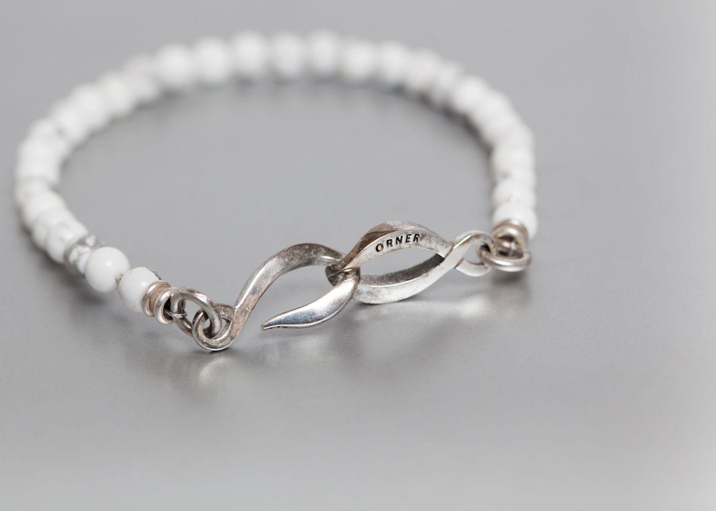 Bracelet Howlite Fin - Orner