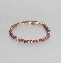 Bracelet Jaspe Terre de Sienne
