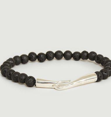 Lava Pearl Bracelet