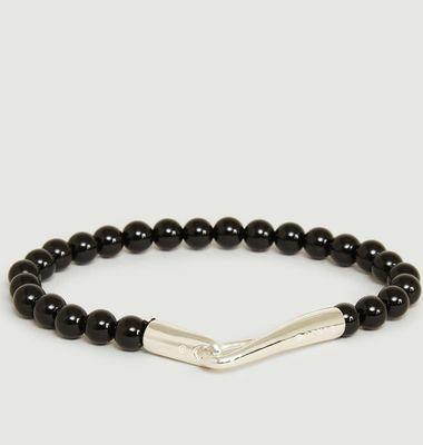 Onyx Pearls Bracelet
